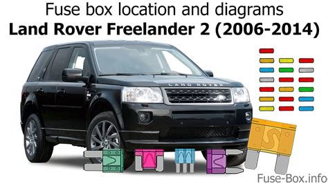 Land Rover Fuse Box Location by Fuse Box Location And Diagrams Land Rover Freelander 2