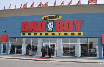 lastman s bad boy opens larger store in whitby ontario