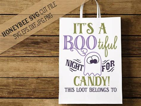 This free svg cut file comes in a single zip file with the following file formats: It's A Bootiful Night Loot bag svg Halloween svg Halloween ...