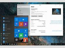 "Windows 10 Desktop Redesigned in ""Fluid Shell"" Concept"
