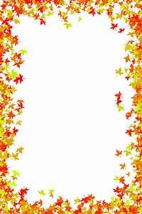 Fall Leaf Border Clip Art – 101 Clip Art