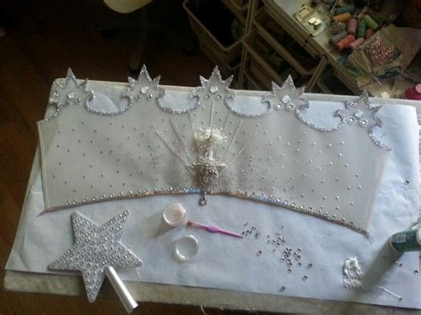 glinda  good witchs crown  work  progress