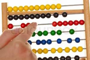 Fluktuation Berechnen : ein abakus f r das lernen der mathematik vor einem wei en hintergrund stockfoto colourbox ~ Themetempest.com Abrechnung