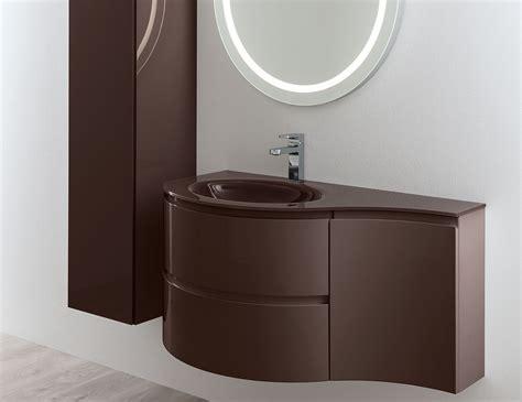 Nella Vetrina Esprit Modern Italian Bathroom Vanity Brown