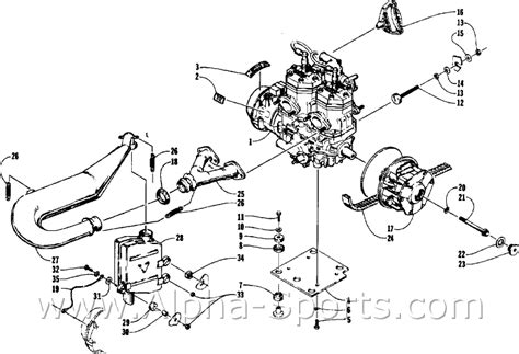 Arctic Cat Engine Diagram by Arctic Cat Snowmobile Wiring Diagrams Engine Diagram And