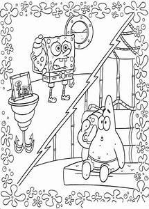 SpongeBob Ausmalbilder 17 Ausmalbilder Gratis
