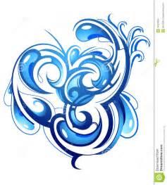 Water Wave Tattoo Designs