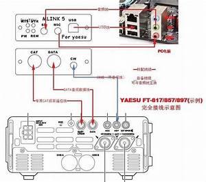 2019 New Mini Link 5 Radio Connector Yaesu Ft 817nd Ft