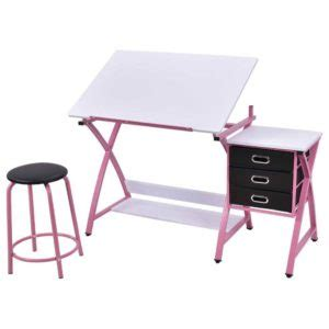 bureau petit ecolier smoby bureau pliant table à dessin inclinable avec tabouret