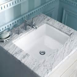archer undermount bathroom sink in white