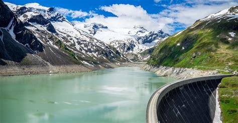 hiking   dams  kaprun zell   austria