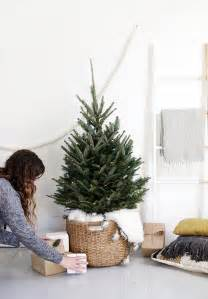 a scandi chic tree for small spaces front