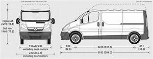 Dimension Opel Vivaro : car blueprints vauxhall vivaro lwb panel blueprints vector drawings clipart and pdf templates ~ Gottalentnigeria.com Avis de Voitures