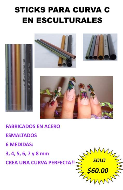 magic c curves para uñas esculturales 60 00 en mercado