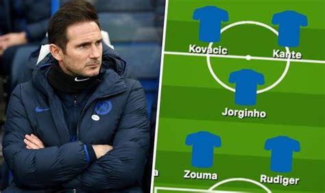 Chelsea team news: Predicted 4-3-3 line up vs Burnley ...