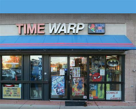 Contact Time Warp Comics, Comic Book Store Serving Boulder