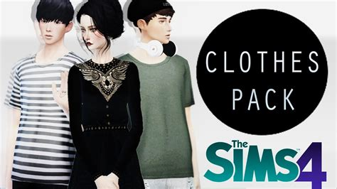 Clothes Pack Pack De Ropa Sims 4 Funnydogtv