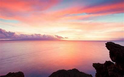 Landscape Pretty Ocean Landscapes Wallpapers Beach Pastel
