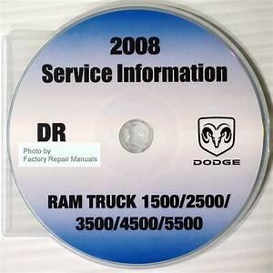 2008 Dodge Ram Truck 1500 2500 3500 4500 5500 Factory