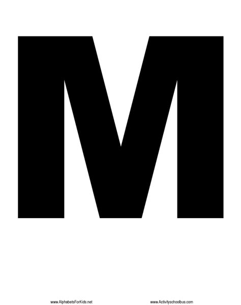 big letter m free m free clip free clip on clipart 20607 | 6ip5bzr4T