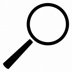 Search magnifying glass - Transparent PNG & SVG vector