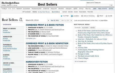 New York Best Sellers List Buy Your Way To The Nyt Best Seller List Adam Blumer
