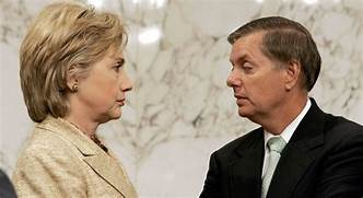 """Clinton & Graham Claim Trump's Syria Withdrawal Will """"Ensure The Return Of ISIS""""…"""
