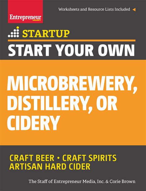 start   microbrewery distillery  cidery