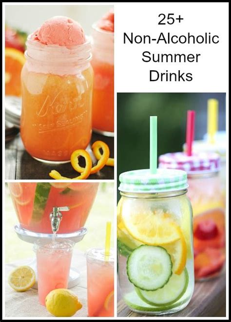 25 non alcoholic summer drinks blogger recipes we love