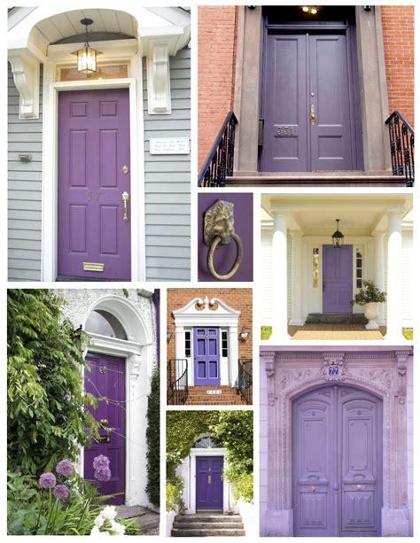 exterior color inspirations the regal dramatic purple