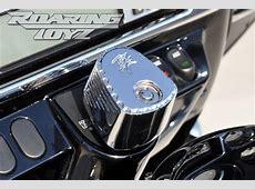 Chrome HD Bagger Billet CNC Custom Bottle Cap Cut Ignition