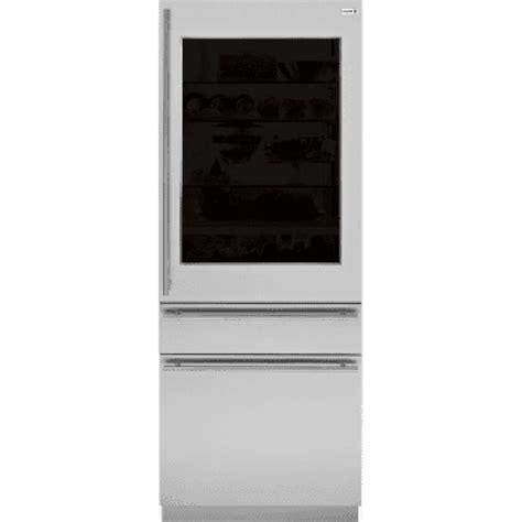 ge zkgtnrh monogram   european glass door panel kit   hand door swing