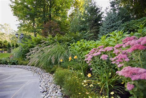 shrub garden design plans landscaping ideas with trees and shrubs pdf