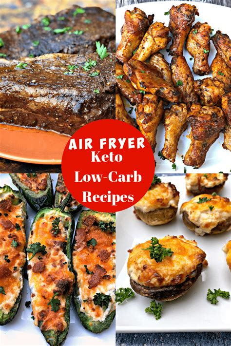 keto fryer air recipes carb low dinner easy quick diet recipe chicken dishes side airfryer friendly main using ketogenic