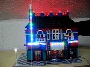 Lego Led Beleuchtung : kino cinema lego mit led beleuchtung lauflicht youtube ~ Orissabook.com Haus und Dekorationen