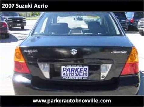 car manuals free online 2007 suzuki aerio parking system 2007 suzuki aerio problems online manuals and repair information