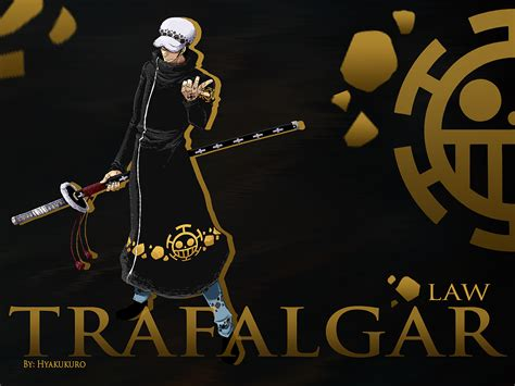 Trafalgar Law Wallpaper One Piece By Hyakukuro On Deviantart