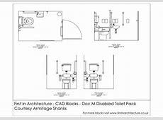 Free CAD Blocks Doc M Disabled Toilet