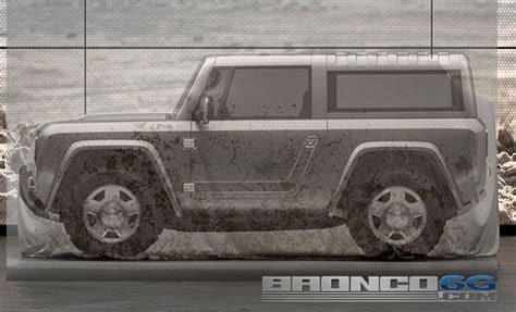 breaking   bronco teased   doors hybrid