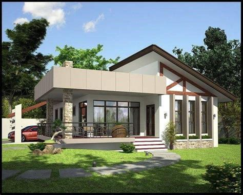 modern house plan blueprints   sf  home complete house plan  story bungalow house