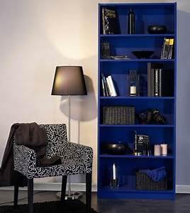 Repeindre Meuble Ikea : repeindre meuble tag re ikea avec peinture bleu outremer ~ Melissatoandfro.com Idées de Décoration