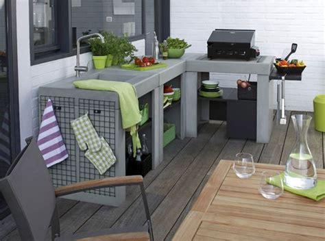 plan de travail pour cuisine exterieure idées d 39 inspiration pour intégrer un barbecue ou une