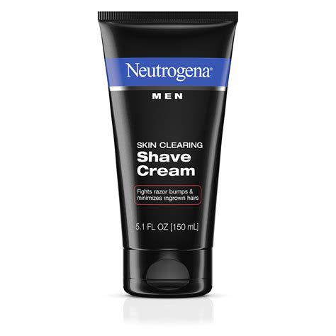 Amazon.com : Neutrogena Men's Shaving Cream For Sensitive