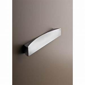 Poignée Porte Placard : poign e de meuble regata disponible en chrom et nickel satin ~ Teatrodelosmanantiales.com Idées de Décoration