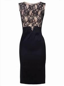 Top Occasion : womens midi black lace top occasion dress party evening cocktail ladi ~ Gottalentnigeria.com Avis de Voitures