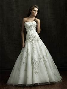 ball gown strapless satin tulle wedding dress with sparkle With wedding dresses sparkly