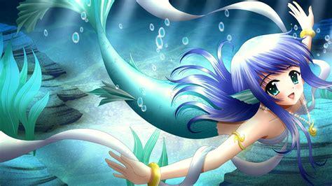 Anime Mermaid Wallpaper - mermaid anime hd desktop background wallpapers 11374