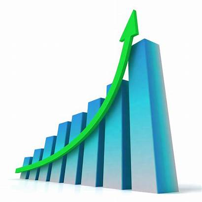 Business Growth Bar Chart Profit Increased Shows