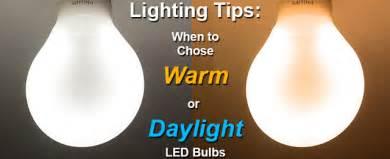 Soft Light Vs Daylight choosing daylight or warm color bulbs
