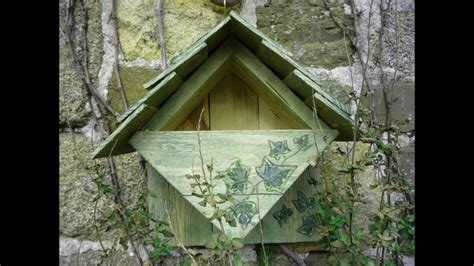 home  repurposed wood nesting box bird house robin wrens caja nido palets reciclados